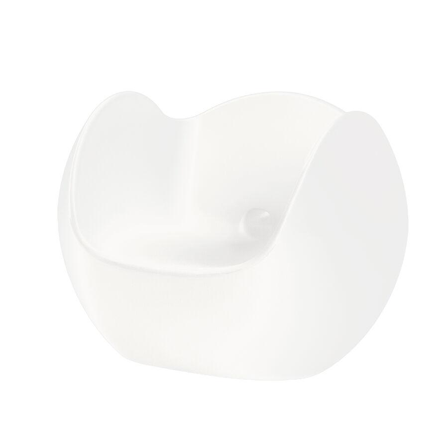 SLIDE fauteuil BLOS (Blanc lait - Polyéthylène)