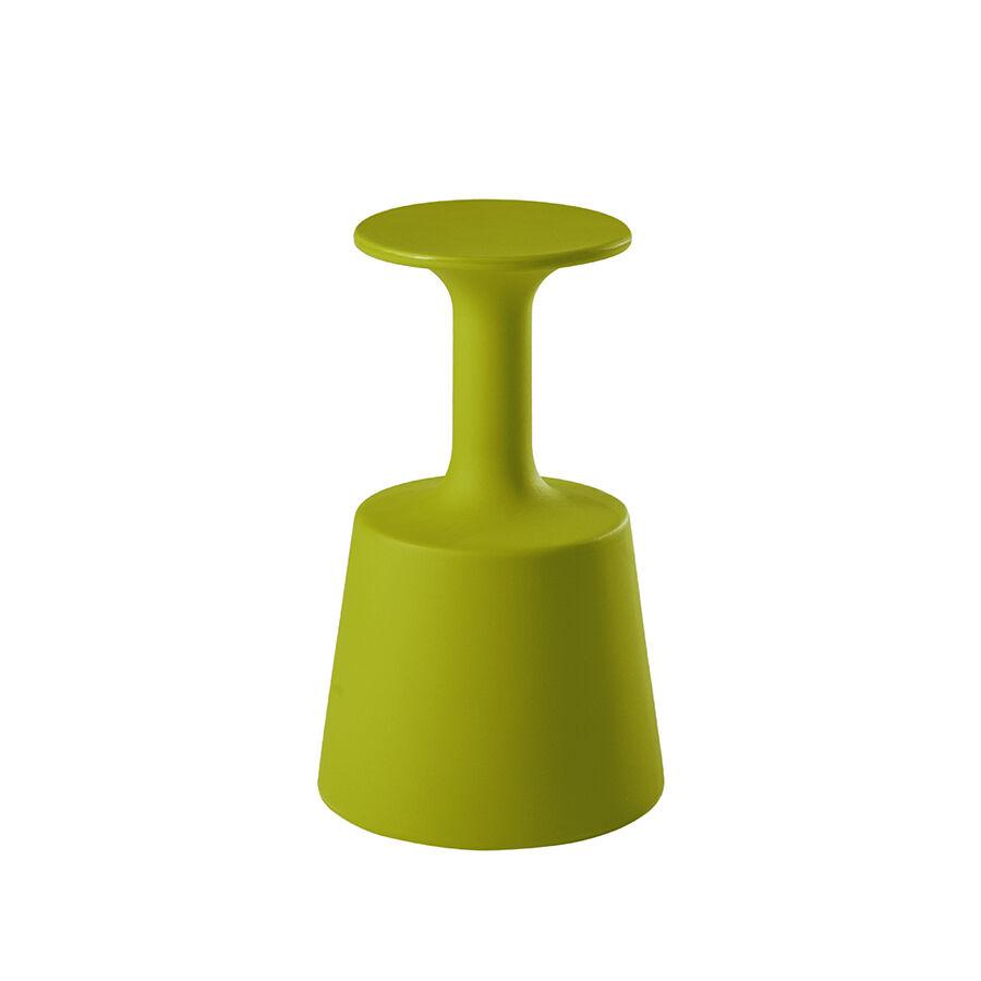SLIDE tabouret / porte-bouteilles DRINK (Citron vert - Polyéthylène)