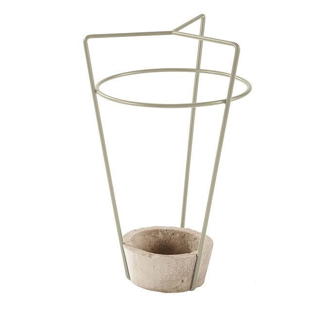 MEME DESIGN porte-parapluie AMBROGIO (Chanvre - métal et ciment)
