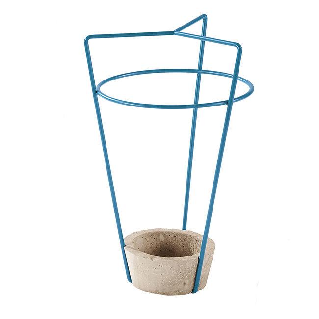 MEME DESIGN porte-parapluie AMBROGIO (Pétrole - métal et ciment)
