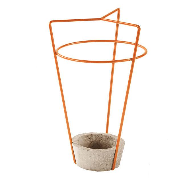 MEME DESIGN porte-parapluie AMBROGIO (Citrouille - métal et ciment)
