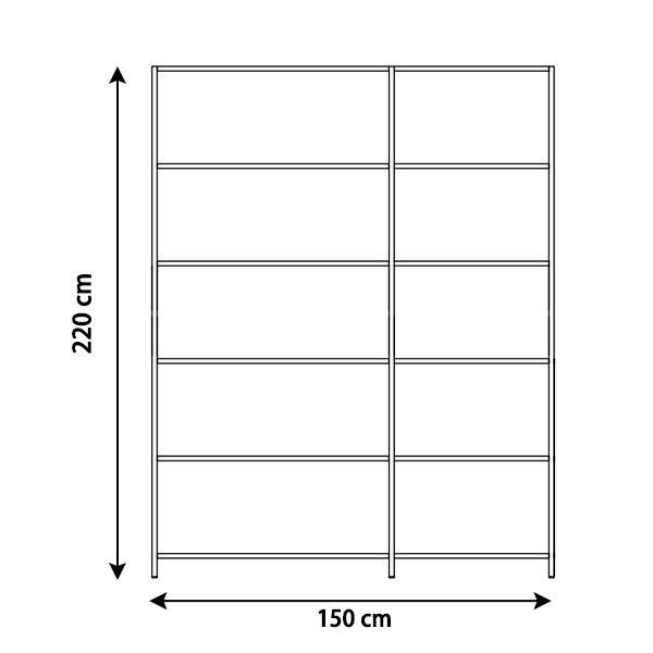 KRIPTONITE système autoportant K3+ P 36 cm COMPOSITION 1 NOIR