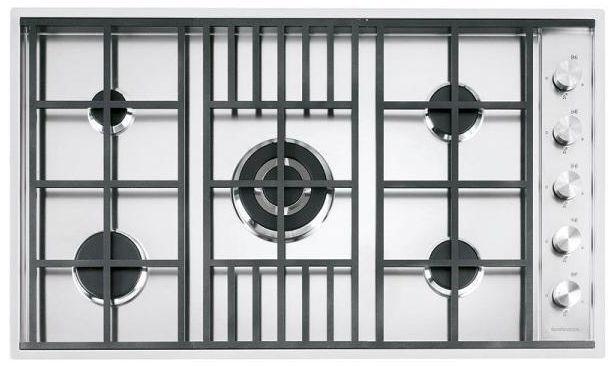 BARAZZA plaque de cuisson LAB 1PLB5 (Inox - Grilles et bruleurs en fonte)