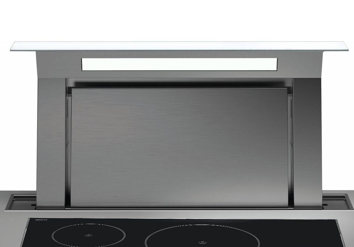 FALMEC hotte plan de travail aspirante DOWNDRAFT BLANC 120 cm
