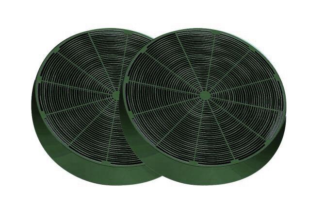 FABER set de 2 filtres LONG LASTING 112.0185.278 FLL8 (1 set de 2 pièces - Filtre charbon)