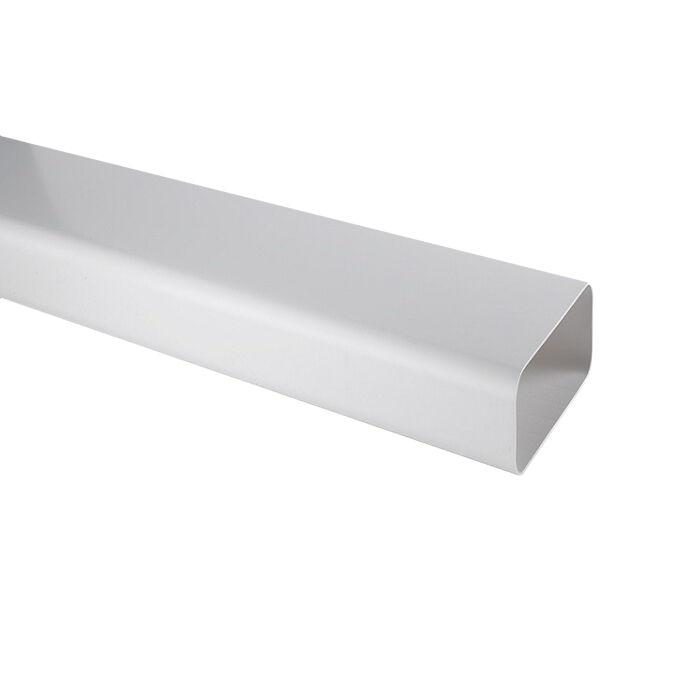 ELICA tuyau rectangulaire KIT0120991 L 1000x89x222 mm pour hotte à évacuation NIKOLATESLA (Blanc - plastique)