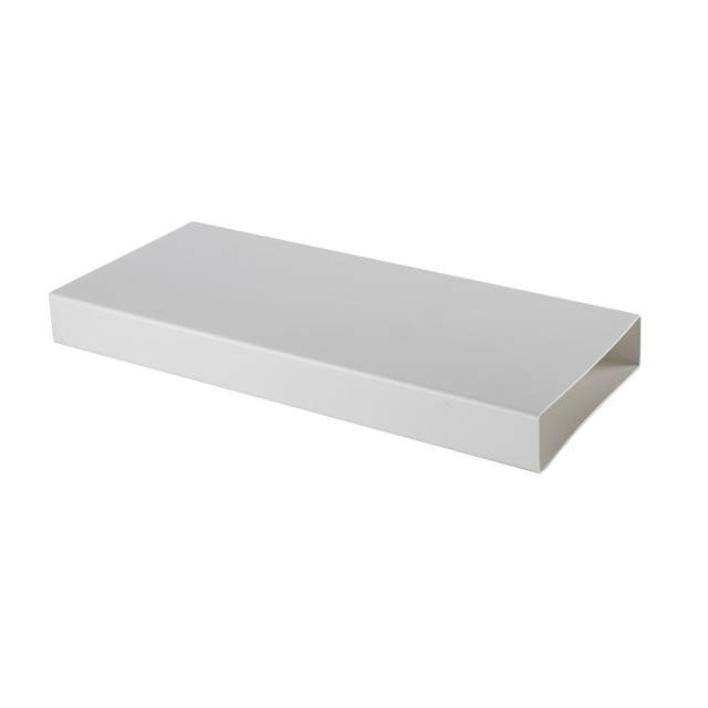ELICA rectangulaire tuyau KIT0121012 500x55x222 mm pour hotte à évacuation NIKOLATESLA (Blanc - plastique)