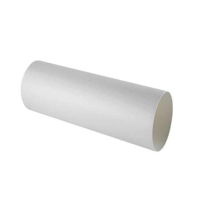 ELICA tuyau rond KIT0120996 L 500x150 mm pour hotte à évacuation NIKOLATESLA (Blanc - plastique)
