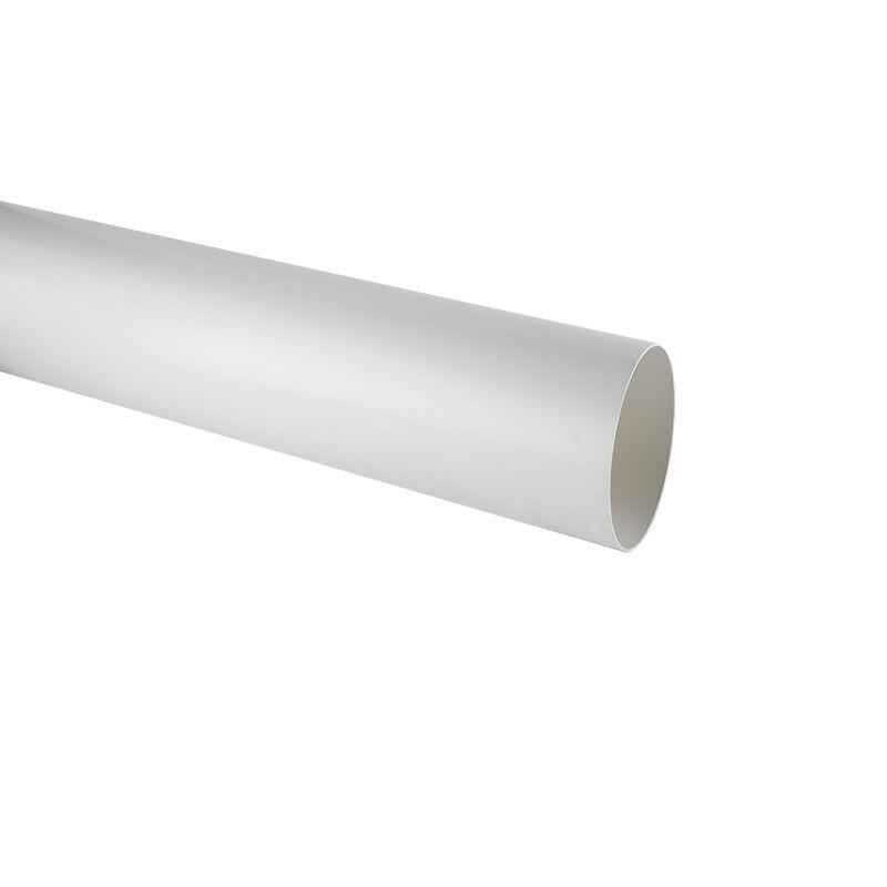 ELICA tuyau rond KIT0121000 L 1000x150 mm pour hotte à évacuation NIKOLATESLA (Blanc - plastique)