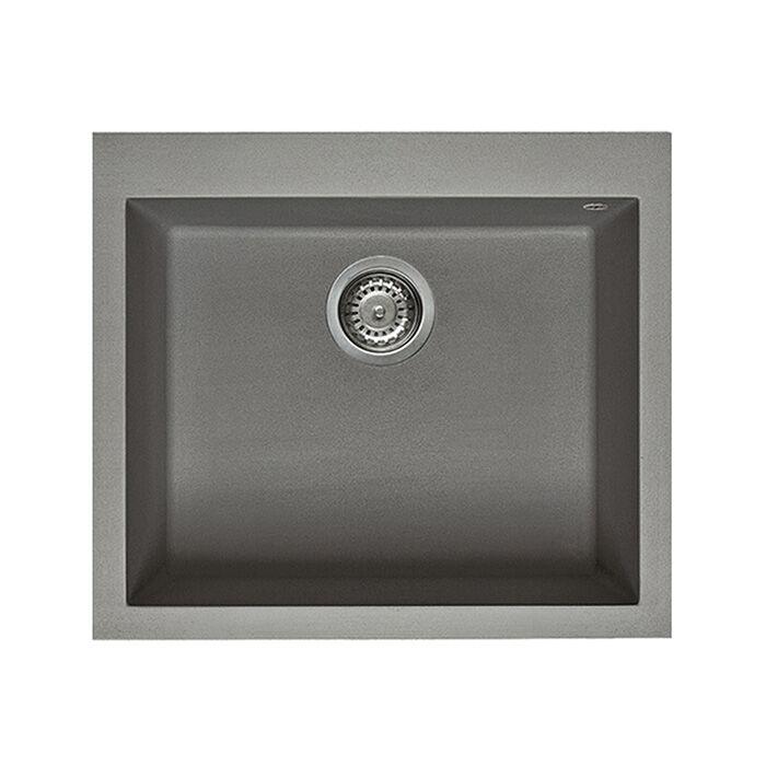 ELLECI évier à 1 bac QUADRA 105 (- - Metaltek)