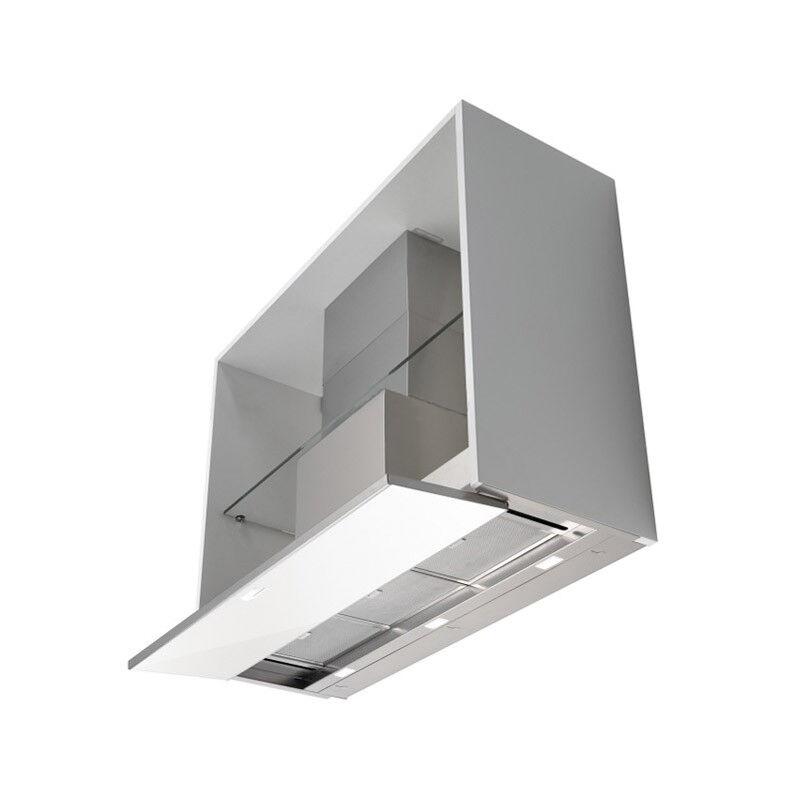 FALMEC hotte encastrable placard MOVE (Blanc 60 cm - Acier Inox et verre)