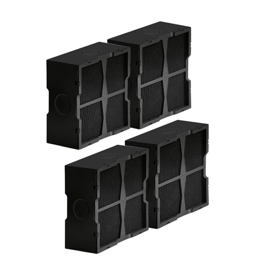 ELICA set de 4 filtres céramiques pour hotte recyclage NIKOLATESLA KIT0120952A (Filtres en céramique - -)
