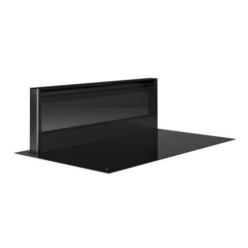 Novy plaque à induction avec hotte version recyclage PANORAMA (Modèle 1841 - verre noir)