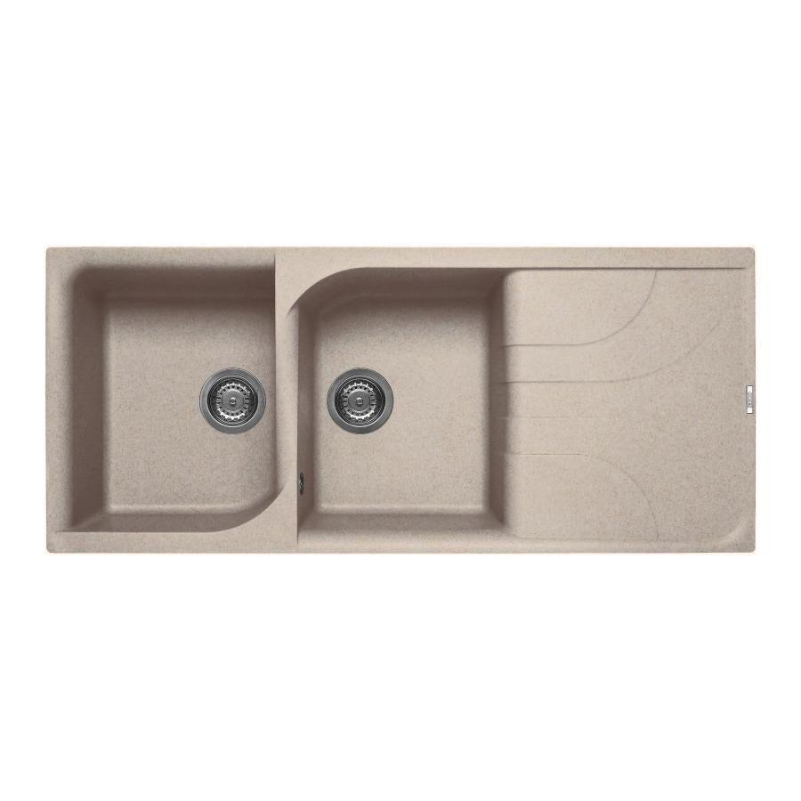 ELLECI évier EGO 500 (Avoine - Granitek)