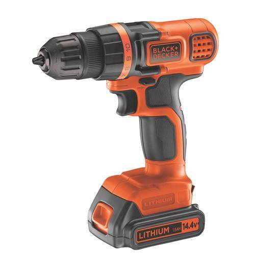 Black & Decker visseuse BLACK+DECKER EGBL14KB-QW 2 à batterie 14,4V Lithium