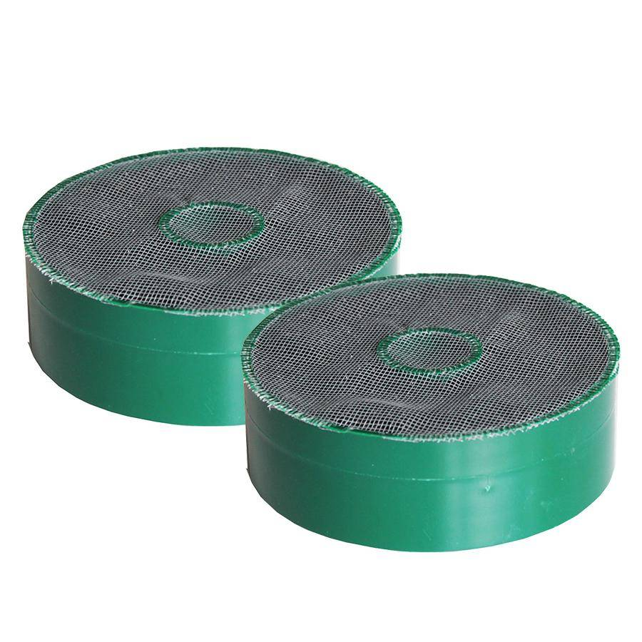 FABER set of 2 filtres charbon LONG LASTING 112.0556.528 FLL23 D125 (Ø 125 mm - Filtre charbon)
