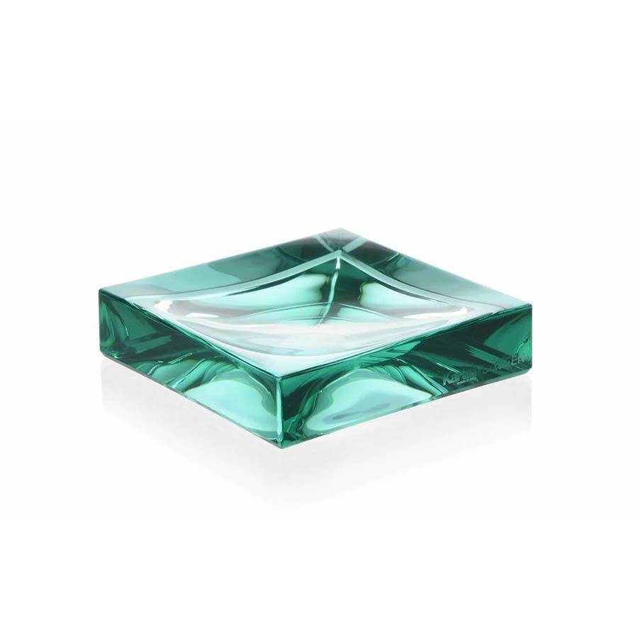 KARTELL by Laufen porte-savon BOXY (vert acquamarina - techno-polymères termoplastique)