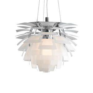 LOUIS POULSEN lampe à suspension PH ARTICHOKE GLASS LED (Ø 84 cm, 2700K - Verre sablé transparent) - Publicité