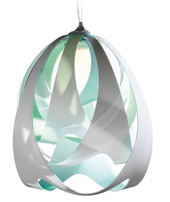 SLAMP lampe à suspension GOCCIA (Aqua - Opalflex®)