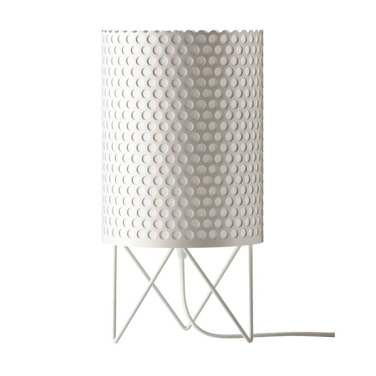 GUBI lampe de table PEDRERA ABC (Blanc - Métal)