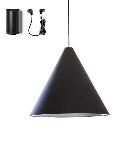 FLOS lampe à suspension STRING LIGHT CÔNE 12 mètres avec FLOOR SWITCH