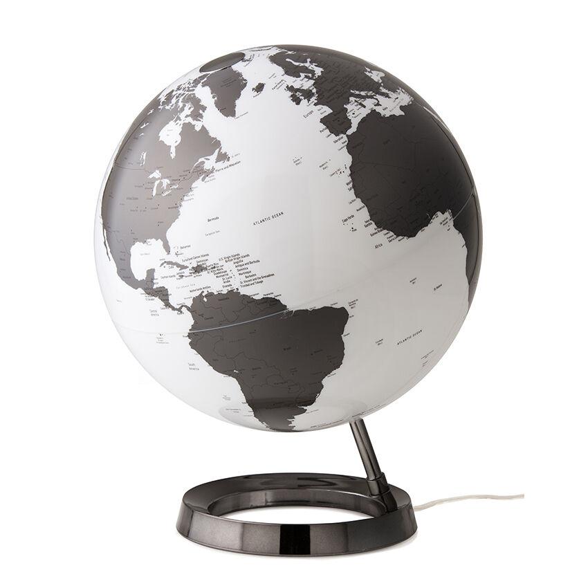 ATMOSPHERE lampe de bureau mappemonde LIGHT & COLOUR BRIGHT (Charcoal - PMMA)