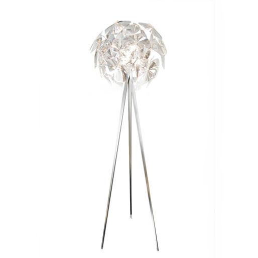 LUCEPLAN lampadaire HOPE D66/18td (Transparent - acier et polycarbonate)