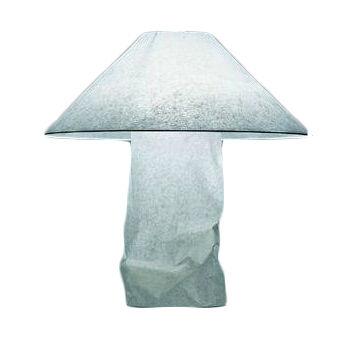 INGO MAURER lampe de table LAMPAMPE (Bouton - Papier japonnais et métal)