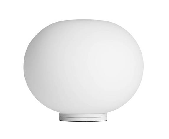 FLOS lampe de table GLO-BALL (BASIC ZERO SWITCH - Verre blanc opale)