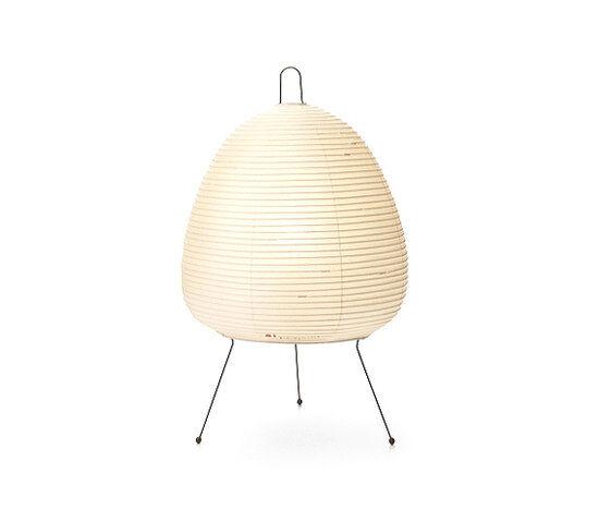 VITRA lampe de table AKARI 1A (1A - Papier shoji et fil d'acier peint)