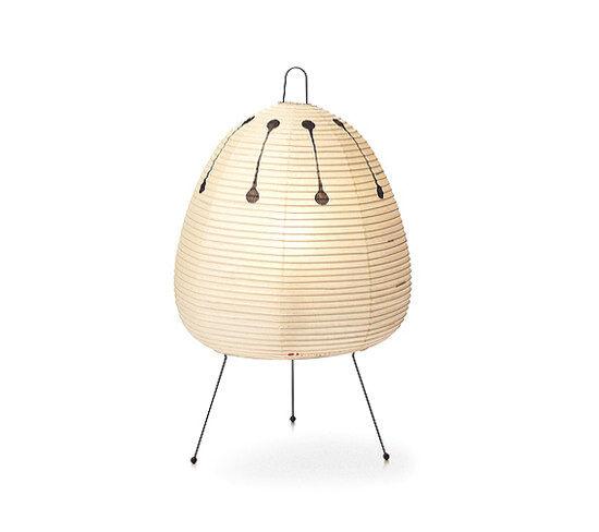 VITRA lampe de table AKARI 1AD (1AD - Papier shoji et fil d'acier peint)