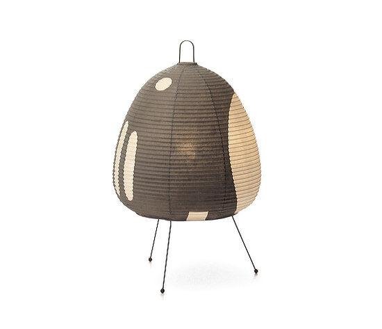 VITRA lampe de table AKARI 1AG (1AG - Papier shoji et fil d'acier peint)