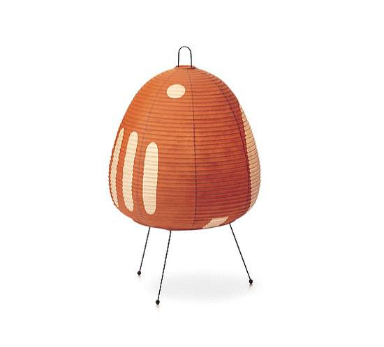VITRA lampe de table AKARI 1AY (1AY - Papier shoji et fil d'acier peint)