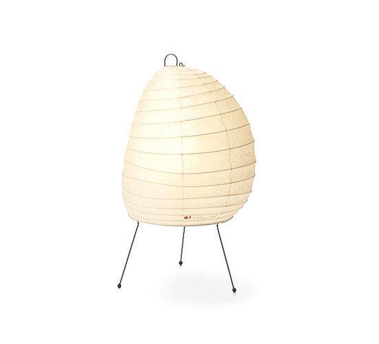 VITRA lampe de table AKARI 1N (1N - Papier shoji et fil d'acier peint)