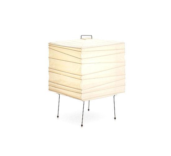 VITRA lampe de table AKARI 3X (3X - Papier shoji et fil d'acier peint)