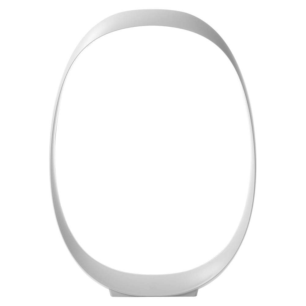 FOSCARINI lampe de table ANISHA GRANDE (Blanc - ABS moulé sous pression)