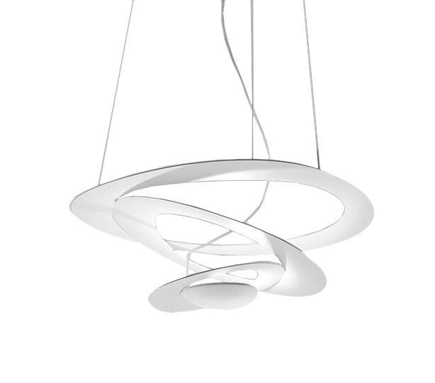 ARTEMIDE lampe à suspension PIRCE MINI (Blanc à LED - Aluminium)