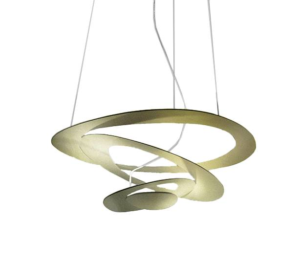 ARTEMIDE lampe à suspension PIRCE MINI (Gold à LED - Aluminium)