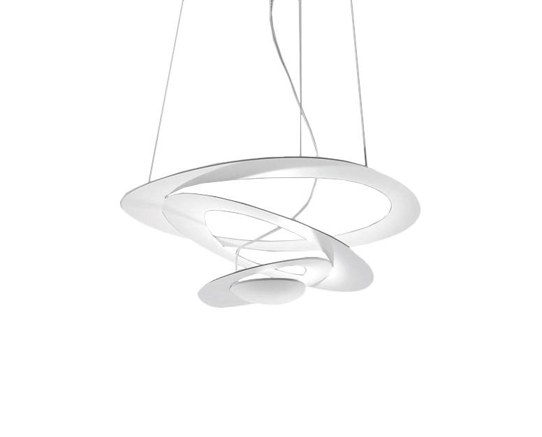 ARTEMIDE lampe à suspension PIRCE MICRO LED (blanc 3000K - Aluminium)