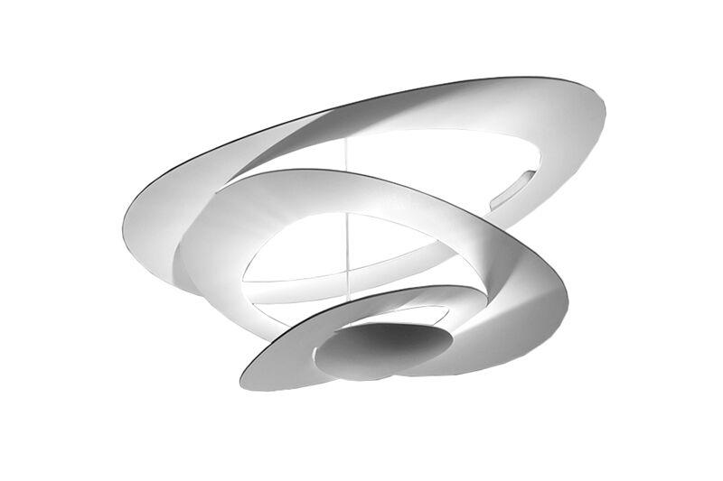 ARTEMIDE lampe au plafond plafonnier PIRCE MINI (Blanc à LED - Aluminium)