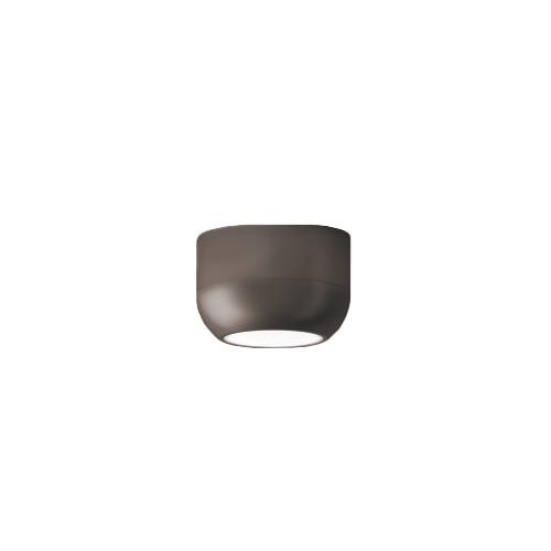 AXO LIGHT lampe à plafond URBAN (H 8,3 cm Nickel opaque - Aluminium)