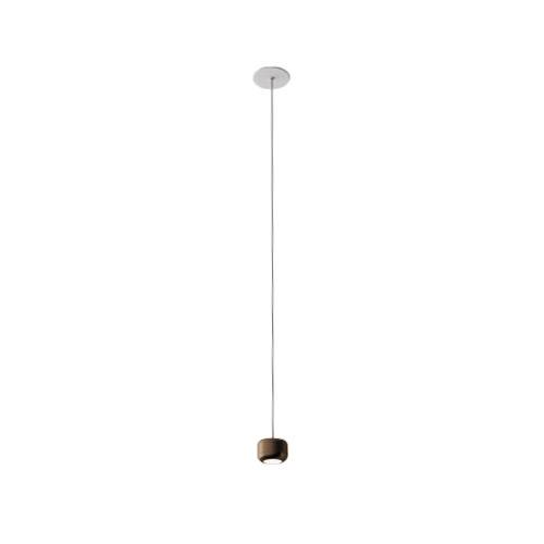 AXO LIGHT lampe à suspension URBAN MINI RECESSED (H 4,7 cm Bronze opaque - Aluminium)