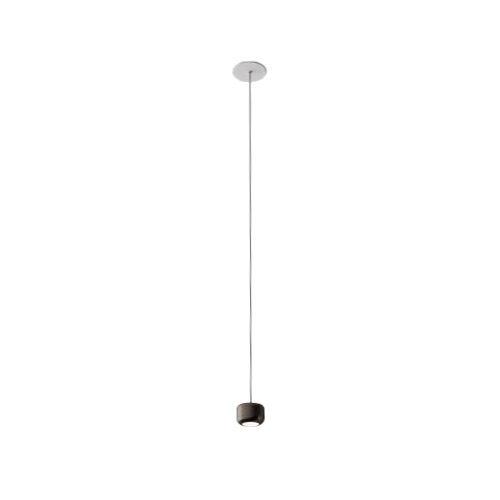 AXO LIGHT lampe à suspension URBAN MINI RECESSED (H 4,7 cm Nickel opaque - Aluminium)