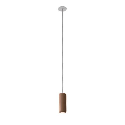 AXO LIGHT lampe à suspension URBAN MINI RECESSED (H 17,6 cm Bronze opaque - Aluminium)