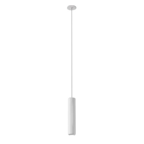AXO LIGHT lampe à suspension URBAN MINI RECESSED (H 32,6 cm Blanc froissé - Aluminium)