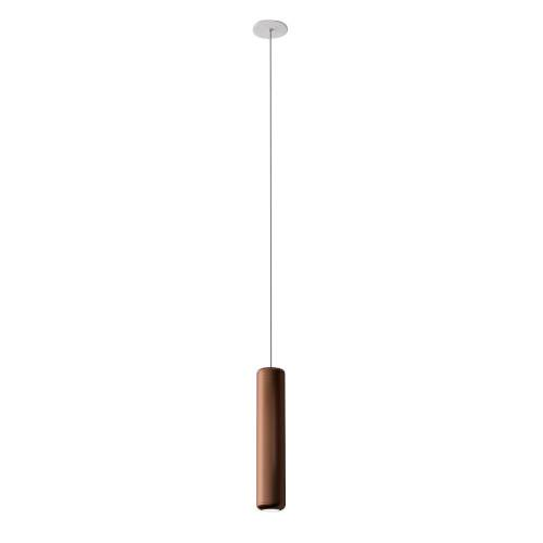 AXO LIGHT lampe à suspension URBAN MINI RECESSED (H 32,6 cm Bronze opaque - Aluminium)
