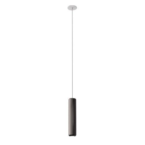 AXO LIGHT lampe à suspension URBAN MINI RECESSED (H 32,6 cm Nickel opaque - Aluminium)