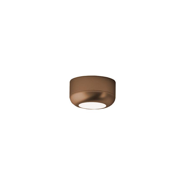 AXO LIGHT lampe à plafond URBAN MINI (H 3,5 cm Bronze opaque - Aluminium)