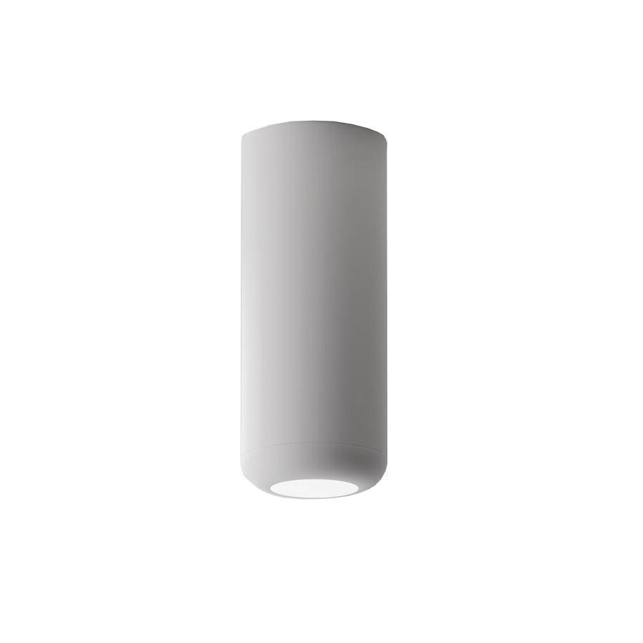 AXO LIGHT lampe à plafond URBAN MINI (H 16,5 cm Blanc froissé - Aluminium)