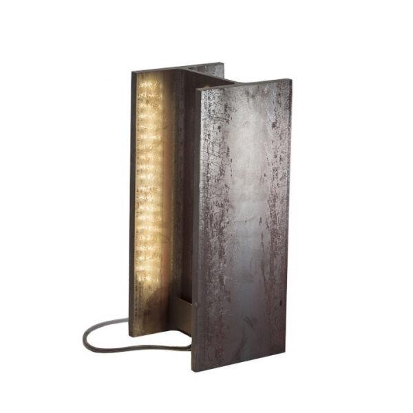 NEMO lampadaire ou lampe de table MAIS PLUS QUE CELA JE NE PEUX PAS (Pour intérieur - Métal brut)
